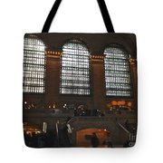 The Windows At Grand Central Terminal Tote Bag