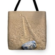 The Winner Death Valley Moving Rock Tote Bag
