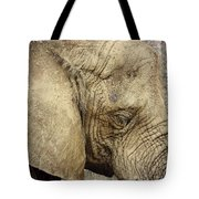 The Wise Old Elephant Tote Bag