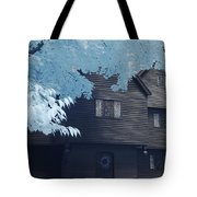 The Witch House In Infrared Tote Bag
