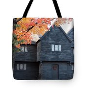 The Witch House Of Salem Tote Bag