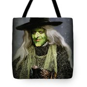 The Witch Of Endor As A Cavalier Tote Bag