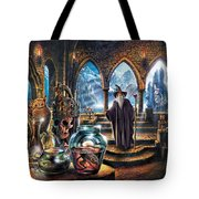 The Wizards Castle Tote Bag