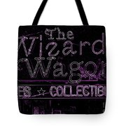 The Wizard's Wagon 2 Tote Bag