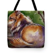 The Wolf Star Tote Bag