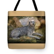 The Wolfhound  Tote Bag