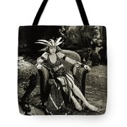 The Woman God Changed Seena Owen 1921 Tote Bag