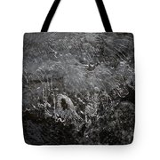 Ice Over The River Tote Bag
