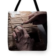 The Wood Carver Tote Bag