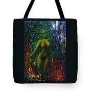 The Wood Nymph Tempts Tote Bag