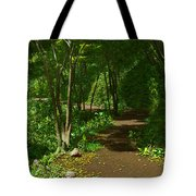 The Wooded Path... Tote Bag