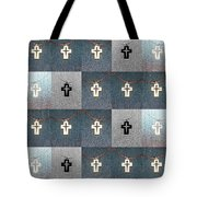 The Wooden Cross Tote Bag
