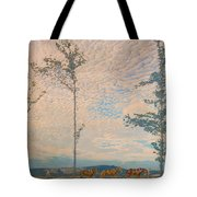 The Wooden Plough Tote Bag