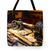 The Woodworker Tote Bag by Paul Ward