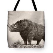 The Woolly Rhinoceros Is An Extinct Tote Bag