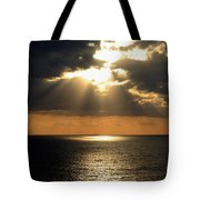 Key West Sunset The Word Tote Bag