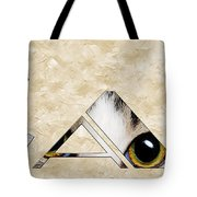 The Word Is Cat Tote Bag by Andee Design