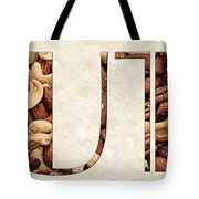 The Word Is Nuts Tote Bag