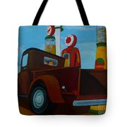 The Work Truck Tote Bag