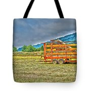 The Working Field Tote Bag by Richard J Cassato