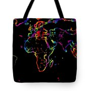 The World In The Past Tote Bag by Augusta Stylianou