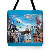 The World Of Sci Fi Tote Bag