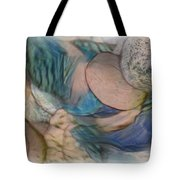 The World On My Shoulders Tote Bag