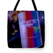The World We Live In Tote Bag