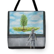 The World You Thought You Lived In Tote Bag