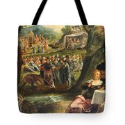The Worship Of The Golden Calf Tote Bag