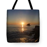 The Wreck Of The Atlantus - Cape May New Jersey Tote Bag