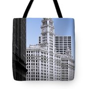 The Wrigley - A Building That Is Pure Chicago Tote Bag