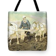 The Writer Lev Nikolaevich Tolstoy Tote Bag by Ilya Efimovich Repin