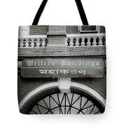 The Writers Buildings Tote Bag