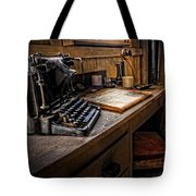 The Writer's Desk Tote Bag