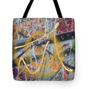 The Writing On The Wall 12 Tote Bag