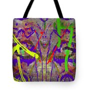 The Writing On The Wall 14 Tote Bag