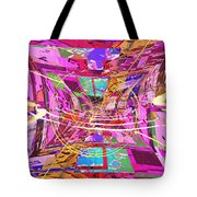 The Writing On The Wall 17 Tote Bag