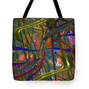The Writing On The Wall 23 Tote Bag