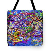 The Writing On The Wall 26 Tote Bag