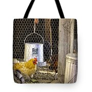 The Yellow Chicken Tote Bag