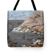 The Yellow Cliff Tote Bag