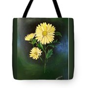 The Yellow Daisy Tote Bag
