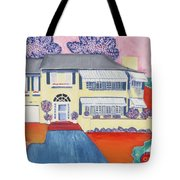 The Yellow House Tote Bag