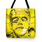 The Yellow Monster Tote Bag