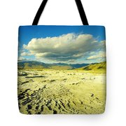 The Yellow Rock Of Yellowstone Tote Bag