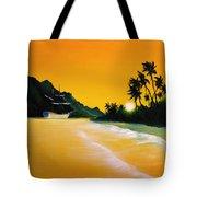 The Yellow Sea Tote Bag