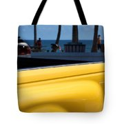 The Yellow Truck Tote Bag