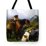 The Young Gamekeeper Tote Bag