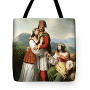 The Young Man's Farewell Tote Bag